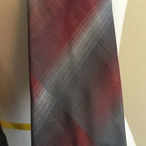 KENNETH COLE REACTION Tie Silk Coonhound Unsolid